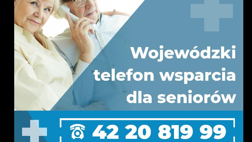 Telefon wsparcia dla seniorów
