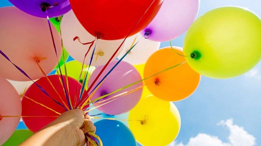 Życzenia z okazji Dnia Dziecka (na zdjęciu kolorowe balony)