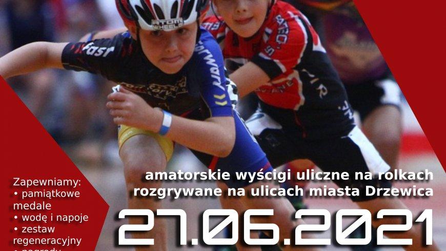 Plakat: ROLLER CUP DRZEWICA