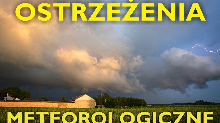 Ostrzeżenie meteorologiczne Nr 44