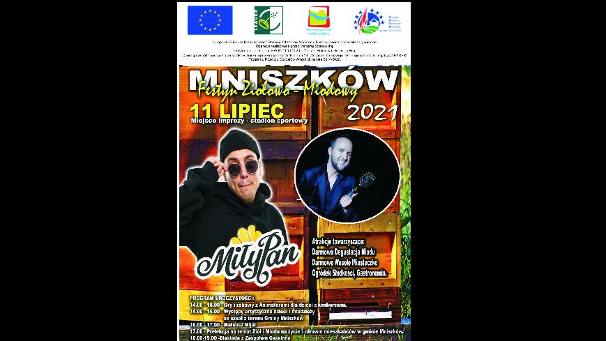 Zapraszamy na Festyn Ziołowo-Miodowy! (plakat)