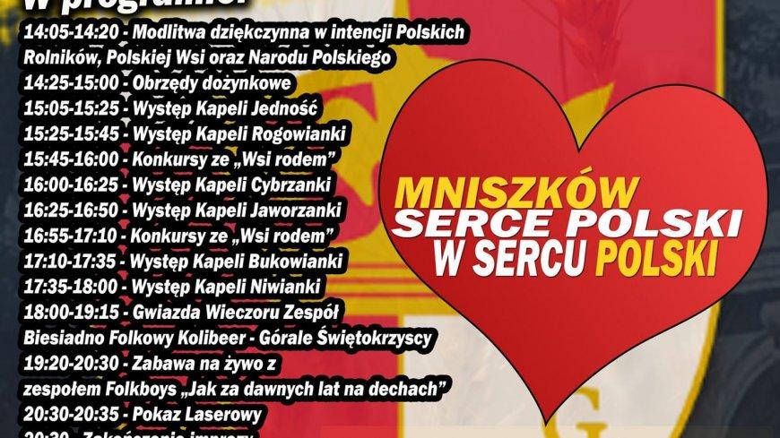 Ogólnopolskie Wieńcowanie w Mniszkowie