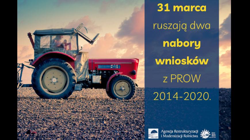 Bezzwrotne premie dla rolników z PROW 2014-2020
